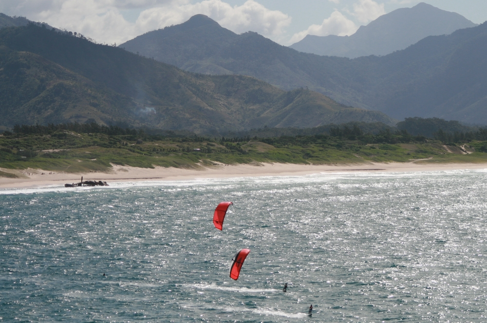 Kitesurfing in Fort Dauphin