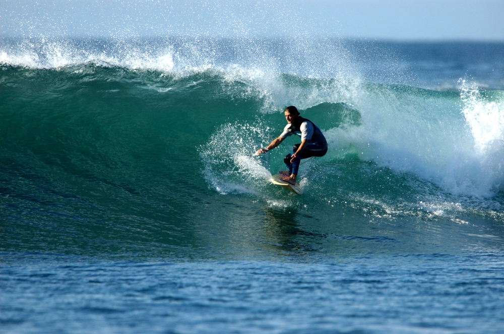 Surfing in Fort Dauphin